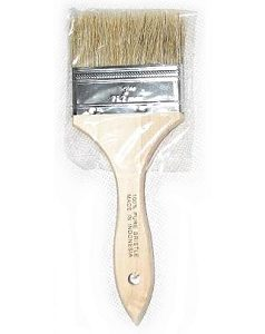 3 inch wood handle paint brushes, dist by Best Materials®
